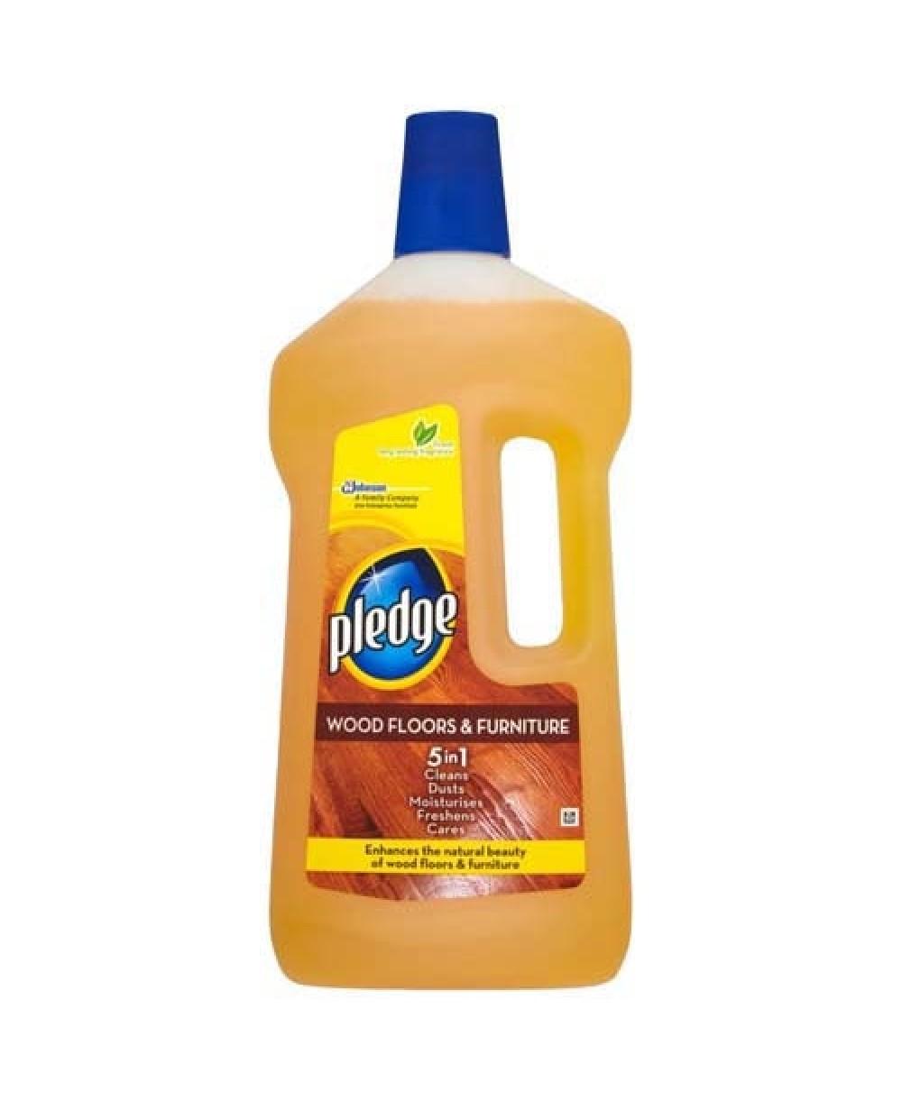 Pledge Wood 5 1 Soapy Floor Cleaner 750ml 33 Extra X 6