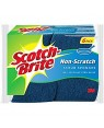 Scotchbright Non Scratch Sponge Scourers 6's x 5 X 5