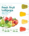 Dr. John's Healthy Sweets Sugar Free Fresh fruit Collection Lollipops 15's x 12