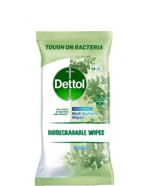 Dettol Bio Wipes 56s x 7