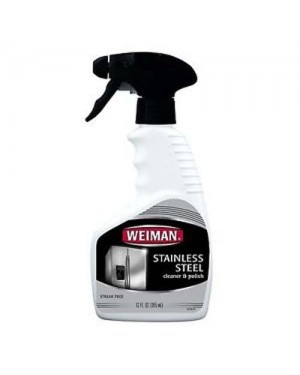 Weiman Stainless Steel Cleaner & Polish Trigger 12oz