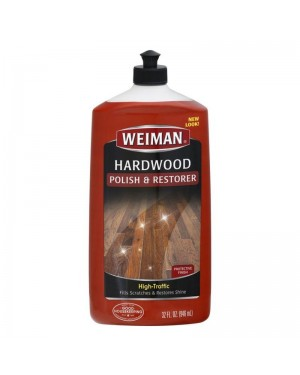 Weiman High Traffic Hardwood Polish & Restorer 32oz (946ml) x 6