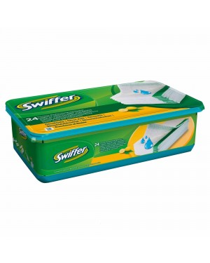 Swiffer Sweeper Refills Citrus Fresh Wet 24 cloths x 6