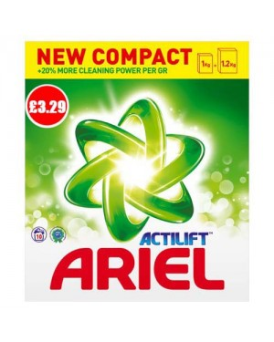 Ariel Actilift Bio Powder (Green) 10w 650g
