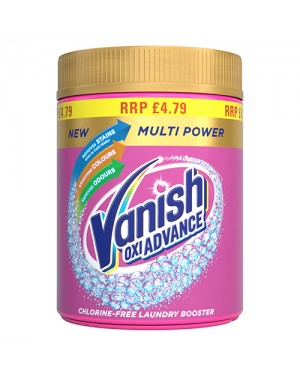 Vanish Gold Pink-Colour Multi Powder PM £4.79 470g x 6