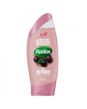 Radox Shower Gel Feel Detox 250ml x 6