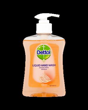 Dettol Pump Soap Grapefruit 250ml x 6