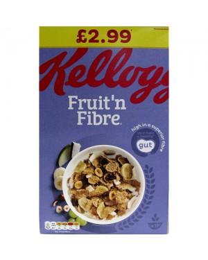 Kelloggs Fruit & Fibre 700g PM £2.99 x 4