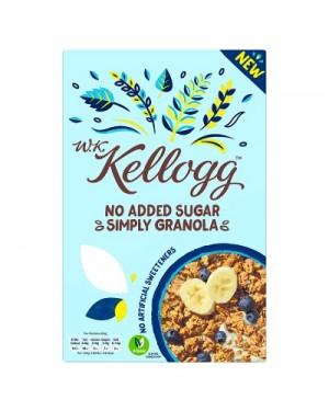 W.K. Kellogg No Added Sugar Simply Granola 570g x 5