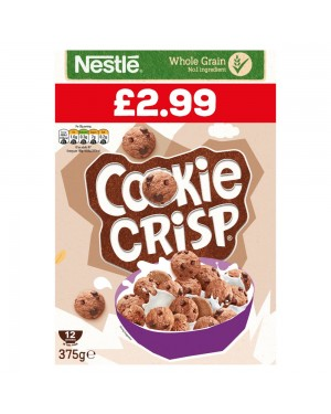 Nestle Cookie Crisp 375g PM £2.99 x 6