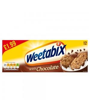 Weetabix Chocolate 12s p.m.£1.99 x 10