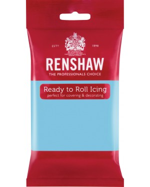 Renshaw Baby Blue Professional Icing 250g x 12