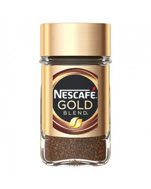 Nescafe Gold blend coffee 50g x 12
