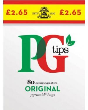 PG Tips Pyramid Teabags 80s p.m.£2.65 x 6