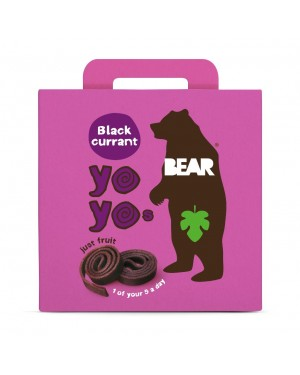 Bear Yoyo Multipack Blackcurrant (5 x 20g) x 6