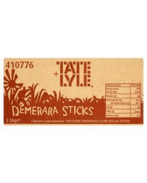 Tate & Lyle Demerara Sugar Sticks 2.5g x 1