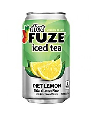 Fuze Diet Lemon Iced Tea Can 12oz (355ml) X 12