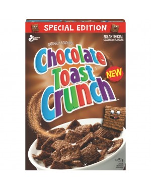 General Mills Chocolate Toast Crunch Cereal 352g x 12