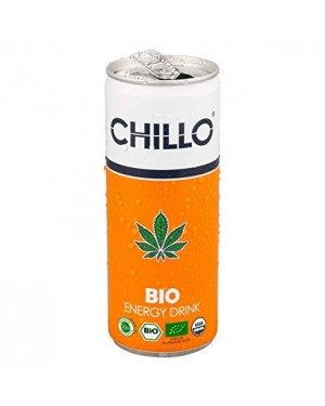 CHILLO BIO Energy Drink 250ml x 24