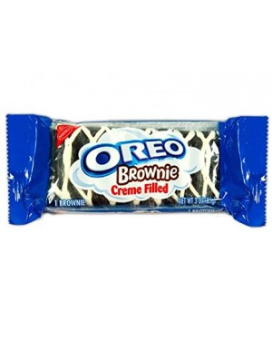 Nabisco Oreo Brownie Creme Filled 3 Oz (85g) x 12