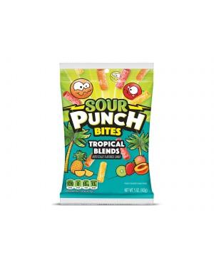 Sour Punch Bites Tropical 5oz (142g) x 12