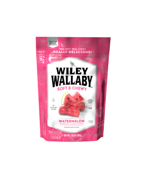 Wiley Wallaby Watermelon Licorice 7.05oz (200g) x 12