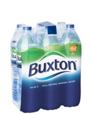 Buxton Natural Still Mineral Water Multi Pack 1.5 Litre x 6