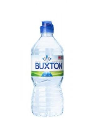 Buxton Natural Still Mineral Water 750ml Sports Cap x 15
