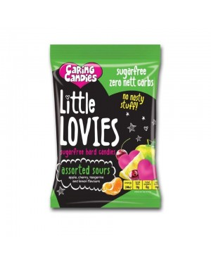 Caring Candies Little Lovies Assorted Sours 100g x 12