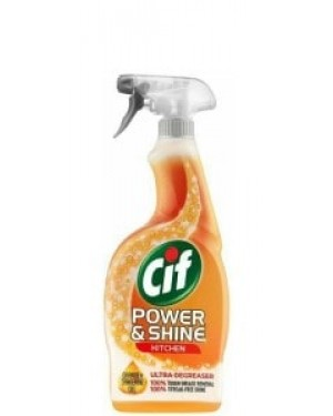 Cif Power & Shine Kitchen Spray 700ml x 6