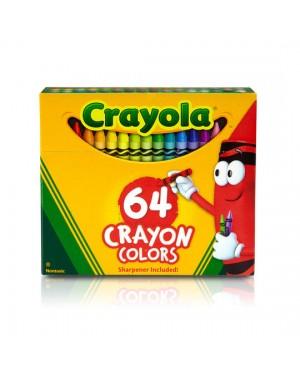 Crayola Crayons 64 ct x 3