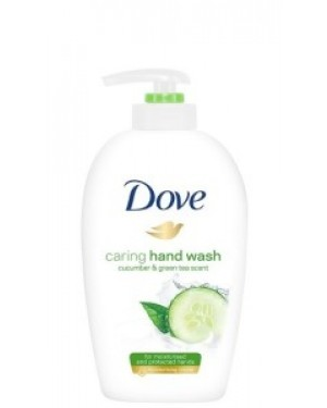 Dove Liquid Hand Wash Pump Fresh Touch 250ml x 12