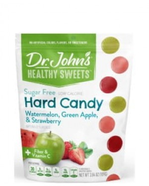 Dr. John's Healthy Sweets Sugar Free Assorted Hard Candies 24's x 12