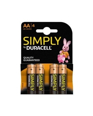 Duracell AA Batteries 4s x 20