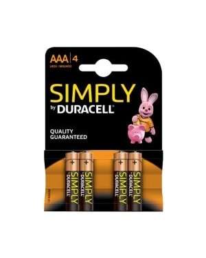 Duracell AAA Batteries 4s x 10