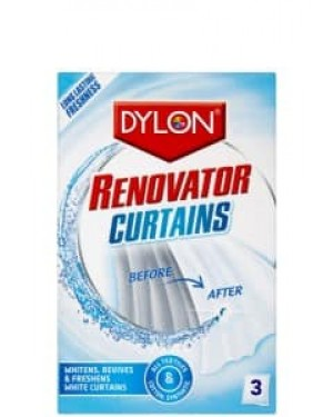 Dylon Curtain Renovator 3 x 30g x 6