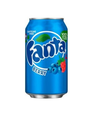 Fanta Berry Soda Can 12oz (355ml) x 12