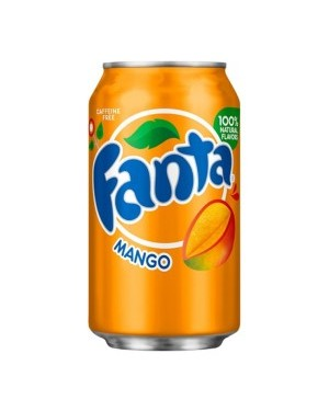Fanta Mango Soda Can 12oz (355ml) x 12
