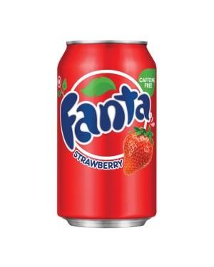 Fanta Strawberry Soda Can 12oz (355ml) x 12