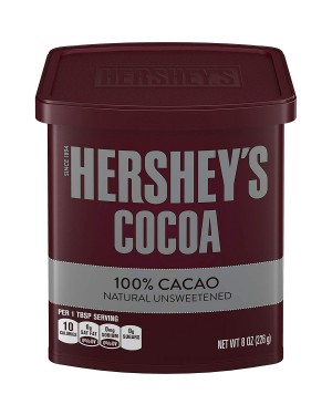 Hershey's Cocoa Natural Unsweetened 8oz (226g) x 12