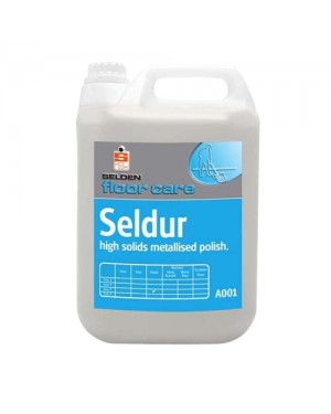 Selden Floor Care Seldur High Solids Metallised Polish (A001) 5L x 2