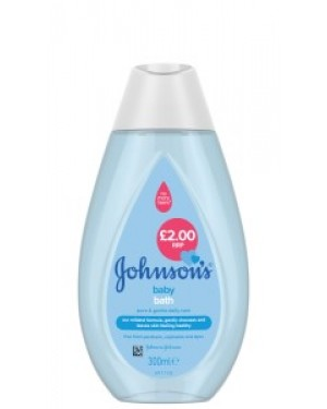 Johnsons Baby Bath 300ml PM £2.00 x 6