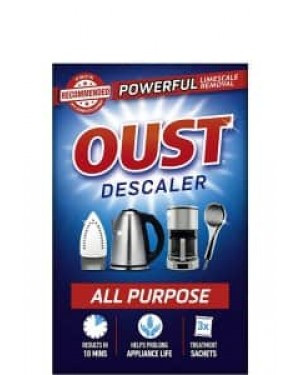 Oust All Purpose Descaler Superfast Action 3 x 25ml
