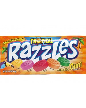 Concord Razzles Tropical 1.4oz (40g) x 24