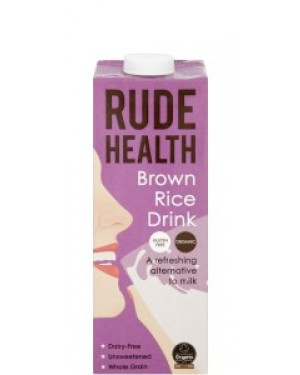 Rude Health Brown Rice Drink 1L 802 x 6