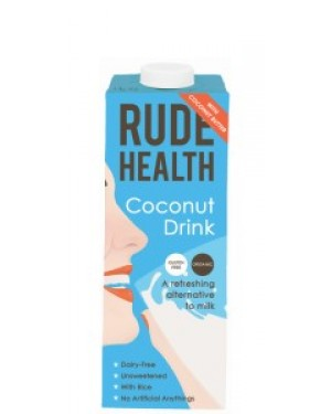 Rude Health Coconut Drink 1L 804 x 6