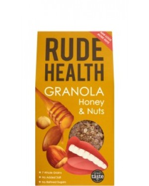 Rude Health Honey & Nuts Granola 500g 202 x 5