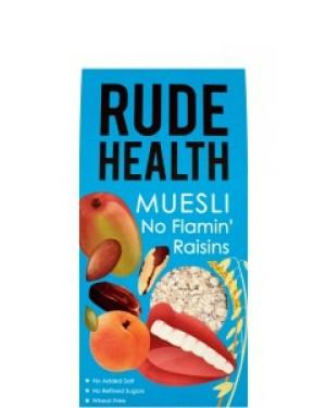 Rude Health No Flamin' Raisins Muesli 500g 103 x 5