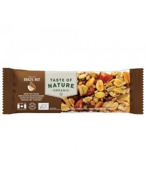 Taste of Nature Brazil Nut Organic 40g x 16