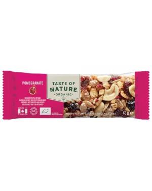 Taste of Nature Pomegranate Organic 40g x 16